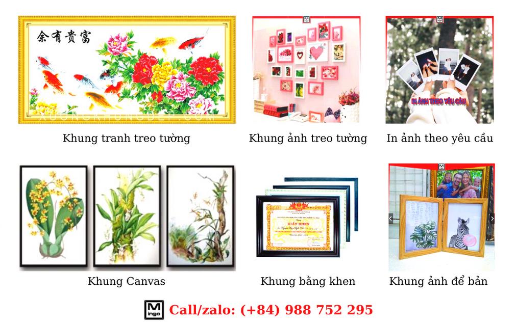 Các sản phẩm của Khung ảnh Treo tường Mingo